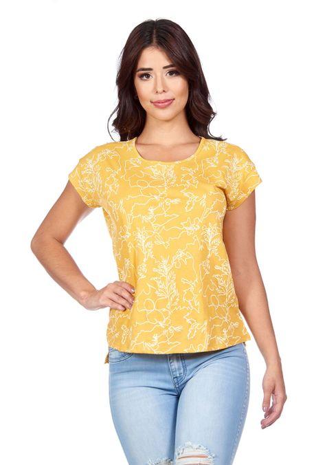 Camiseta-QUEST-QUE263180046-50-Mostaza-1