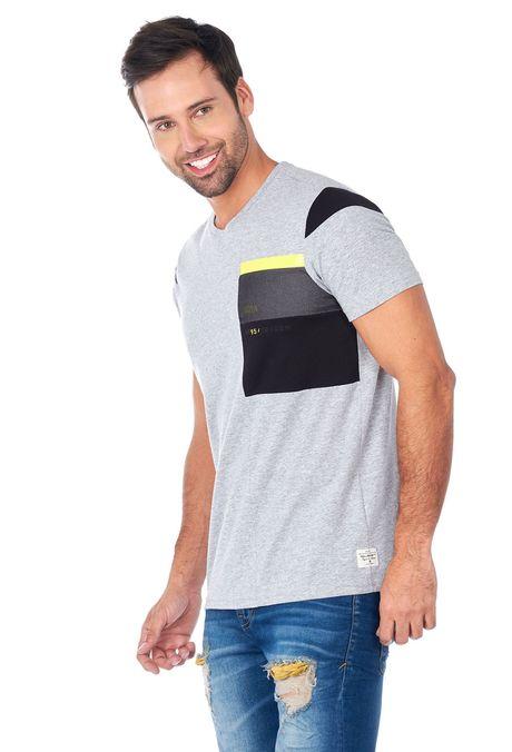 Camiseta-QUEST-Slim-Fit-QUE112180133-86-Gris-Jaspe-Medio-2