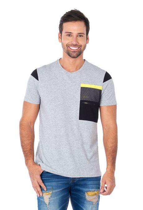 Camiseta-QUEST-Slim-Fit-QUE112180133-86-Gris-Jaspe-Medio-1