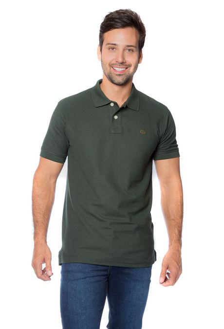 Polo-QUEST-Slim-Fit-QUE162BA0012-38-Verde-Militar-1