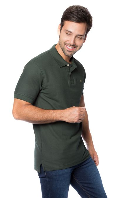 Polo-QUEST-Slim-Fit-QUE162BA0012-38-Verde-Militar-2