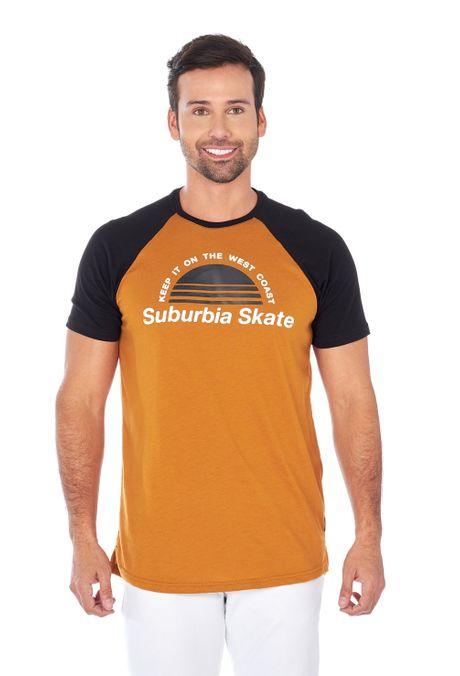 Camiseta-QUEST-Slim-Fit-QUE112180163-54-Amarillo-Ocre-1