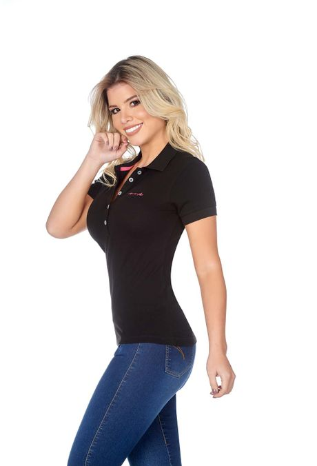 Polo-QUEST-Slim-Fit-QUE262BA0007-19-Negro-2