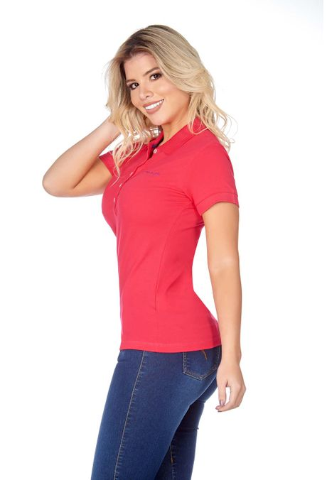 Polo-QUEST-Slim-Fit-QUE262BA0007-8-Fucsia-2