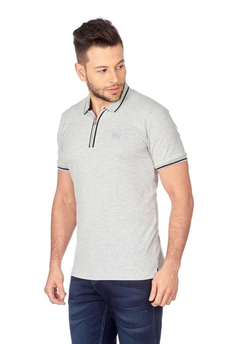 Polo-QUEST-Original-Fit-QUE162180062-86-Gris-Jaspe-Medio-2