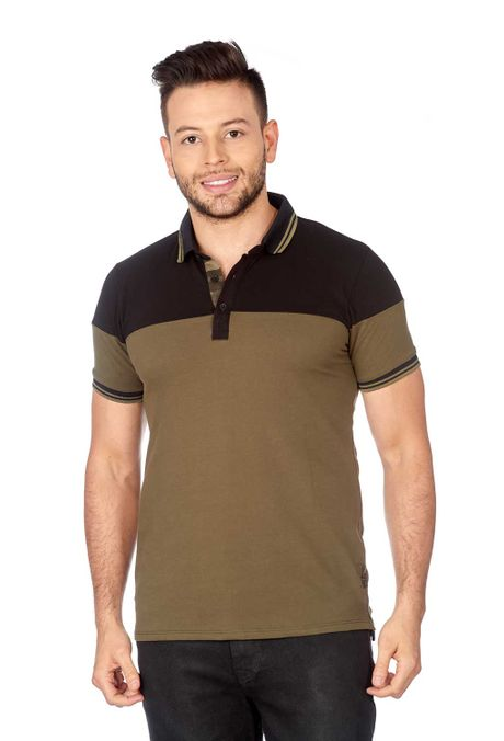 Polo-QUEST-Slim-Fit-QUE162180055-38-Verde-Militar-1