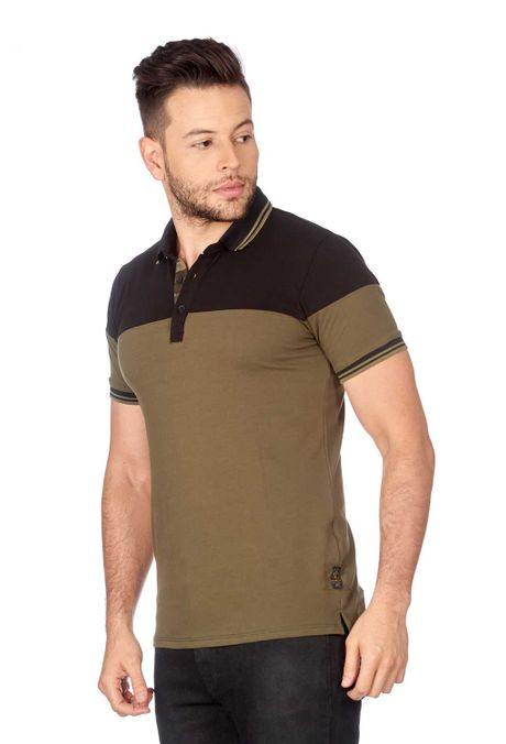 Polo-QUEST-Slim-Fit-QUE162180055-38-Verde-Militar-2