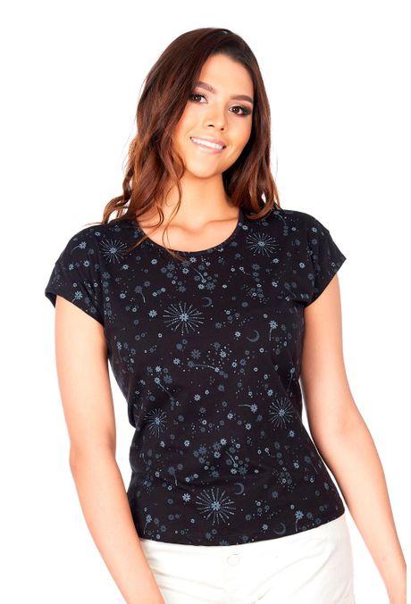 Camiseta-QUEST-QUE263180062-19-Negro-1