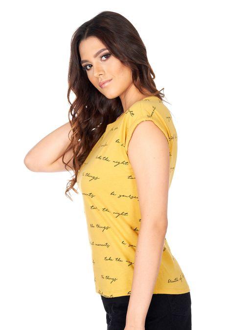 Camiseta-Especial-QUEST-QUE263180063-50-Mostaza-2