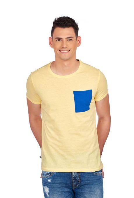Camiseta-QUEST-Slim-Fit-QUE163190007-10-Amarillo-1