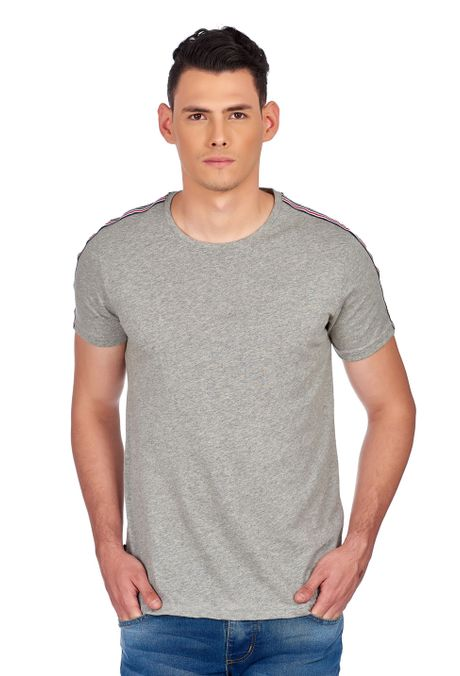 Camiseta-QUEST-Slim-Fit-QUE163190008-86-Gris-Jaspe-Medio-1