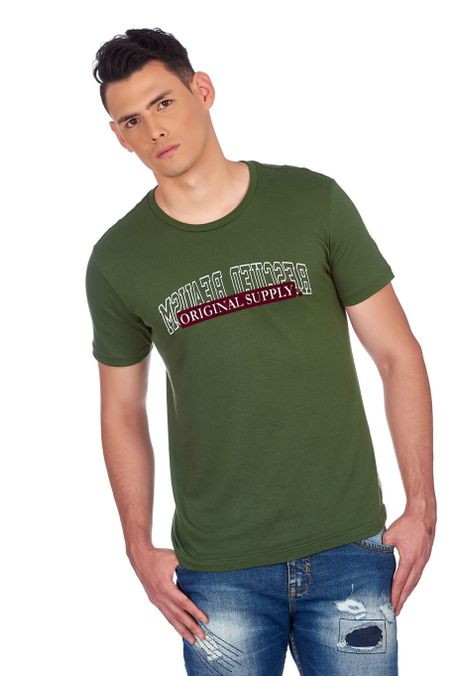 Camiseta-QUEST-Slim-Fit-QUE163190019-63-Verde-Oscuro-1
