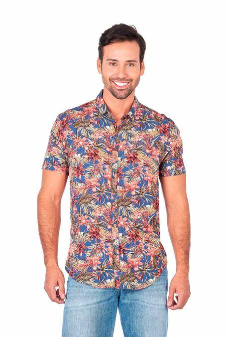 Camisa-QUEST-Slim-Fit-QUE111180127-15-Azul-Medio- ... 108d56543653c