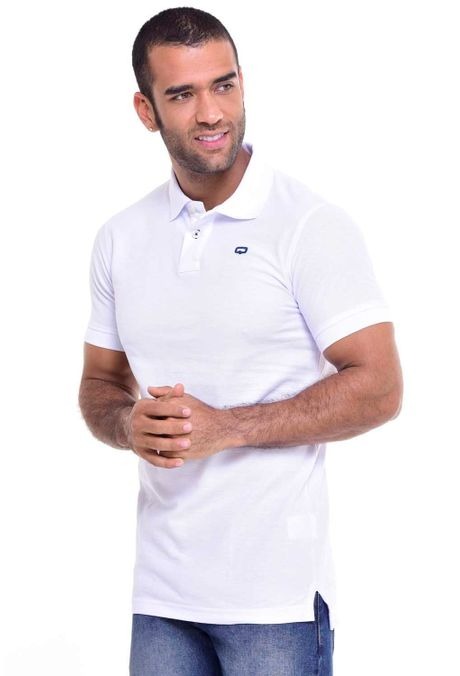 Polo-QUEST-Slim-Fit-QUE162BA0012-18-Blanco-1