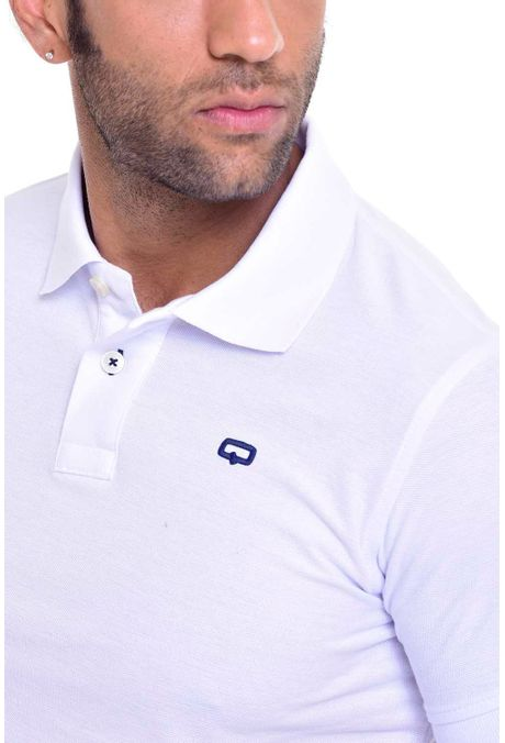 Polo-QUEST-Slim-Fit-QUE162BA0012-18-Blanco-2