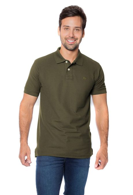 Polo-QUEST-Slim-Fit-QUE162BA0012-123-Verde-Oliva-1