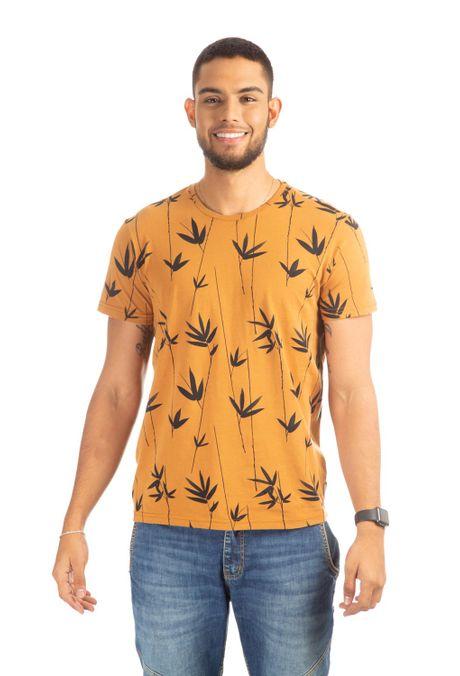 Camiseta-QUEST-Slim-Fit-QUE163190005-1-Ocre-1