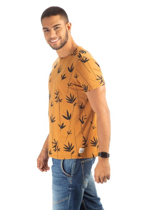Camiseta-QUEST-Slim-Fit-QUE163190005-1-Ocre-2