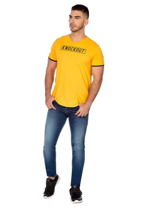 Camiseta-QUEST-Slim-Fit-QUE112OU0002-50-Mostaza-2