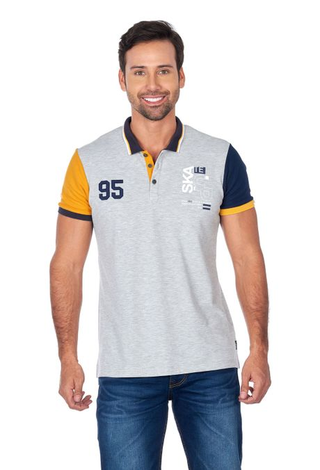 Polo-QUEST-Slim-Fit-QUE162180097-42-Gris-Jaspe-1