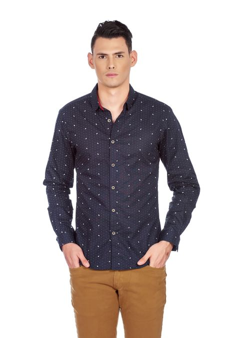 Camisa-QUEST-Slim-Fit-QUE111190015-16-Azul-Oscuro-1