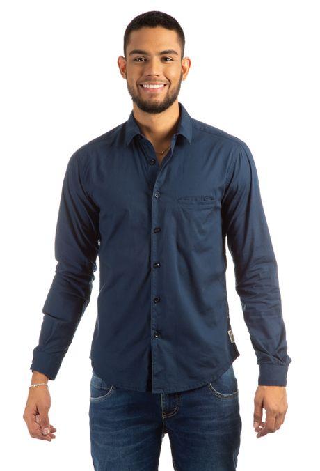 dd56b946d Camisa Original Azul Oscuro