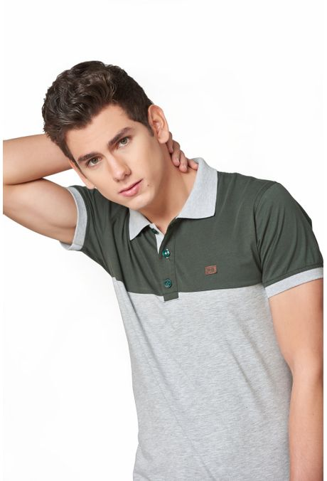 Polo-QUEST-Slim-Fit-QUE162190044-86-Gris-Jaspe-Medio-1