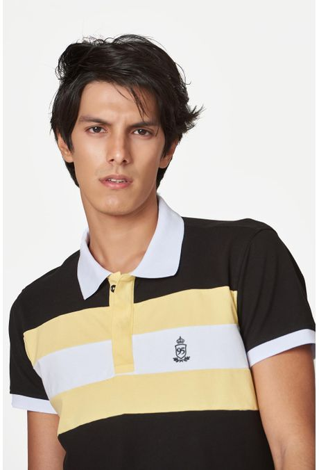Polo-QUEST-Slim-Fit-QUE162190054-19-Negro-1