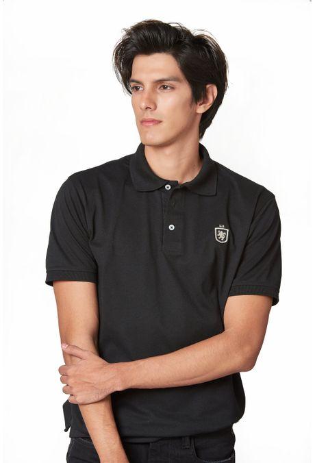Polo-QUEST-Slim-Fit-QUE162190065-19-Negro-1