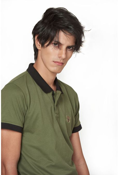 Polo-QUEST-Slim-Fit-QUE162190068-38-Verde-Militar-2