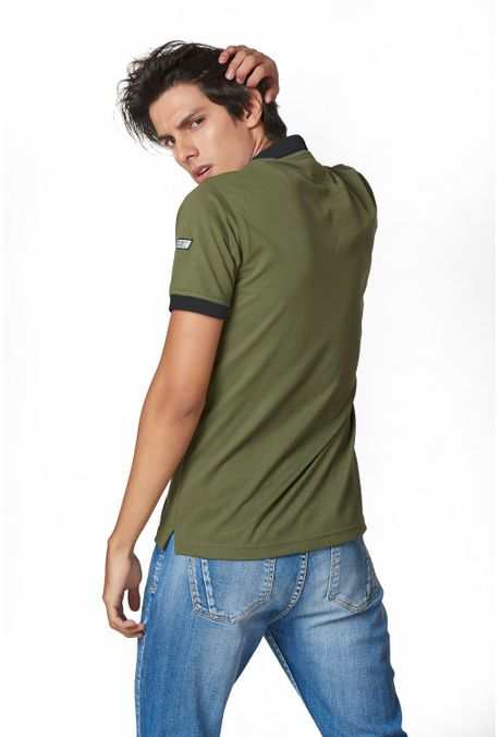 Polo-QUEST-Slim-Fit-QUE162190064-38-Verde-Militar-2