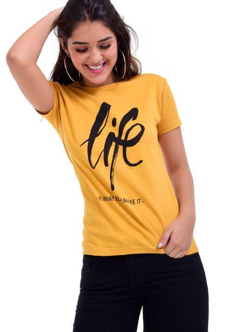 Camiseta-QUEST-QUE263BS0040-50-Mostaza-1