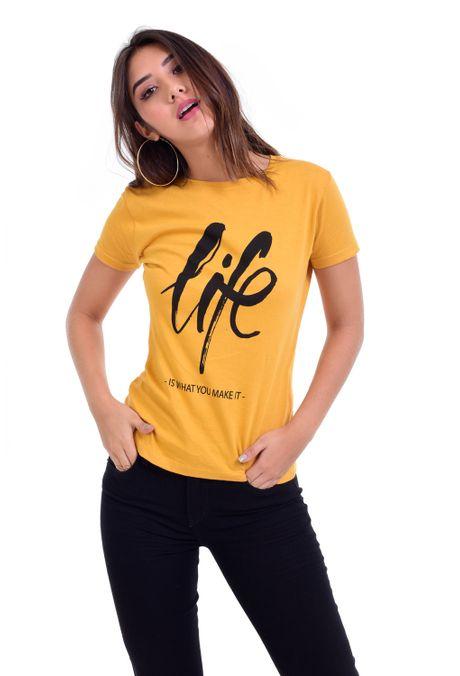 Camiseta-QUEST-QUE263BS0040-50-Mostaza-2