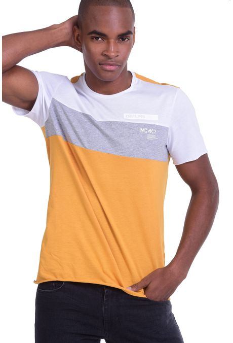 Camiseta-QUEST-Slim-Fit-QUE112OU0008-50-Mostaza-1