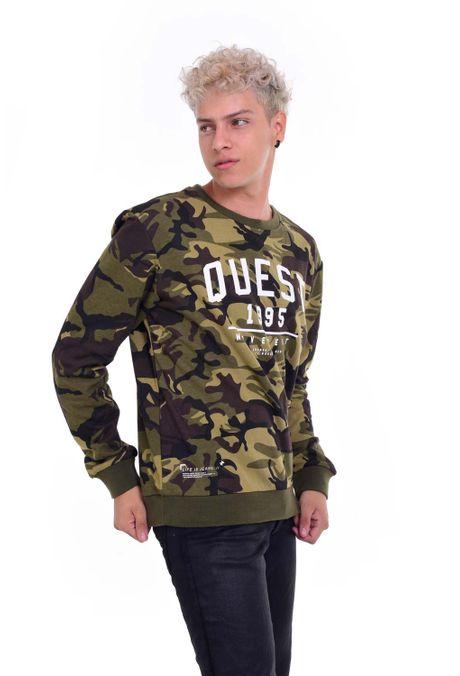 Hoodie-QUEST-QUE123190005-38-Verde-Militar-1