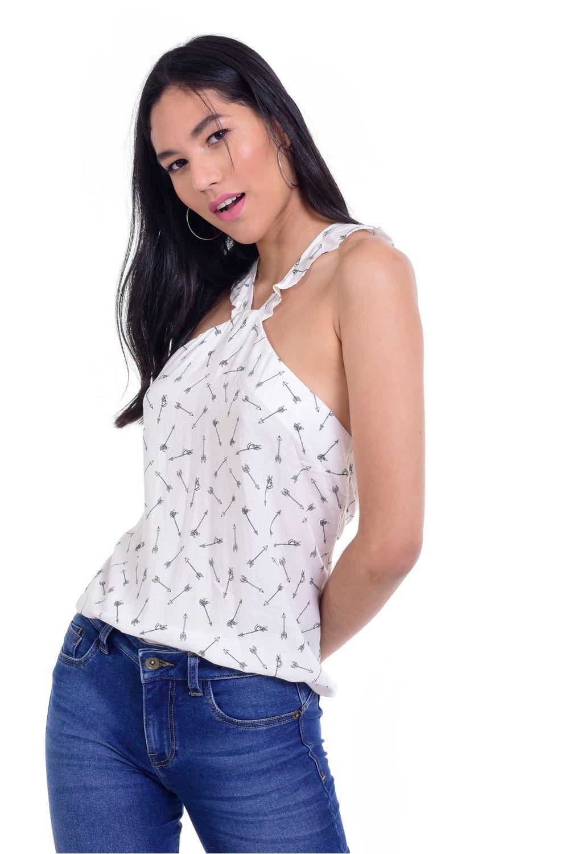 c65d2f12fd Blusa QUEST para Mujer QUE201OU0015-87 - quest