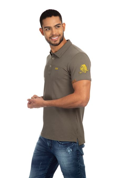 Polo-QUEST-Slim-Fit-QUE162190004-123-Verde-Oliva-2