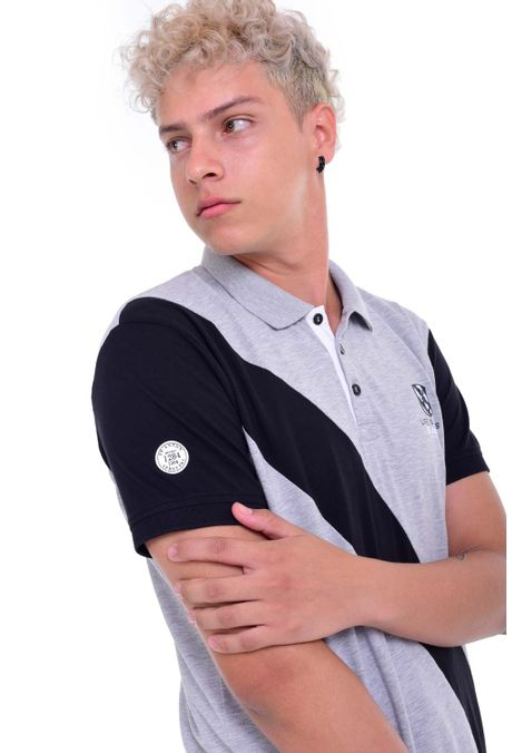 Polo-QUEST-Original-Fit-QUE162190029-86-Gris-Jaspe-Medio-2