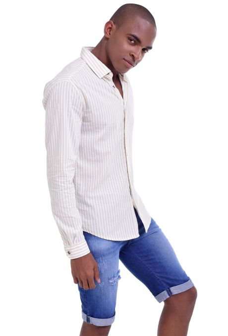 Camisa-QUEST-Slim-Fit-QUE111LW0002-21-Beige-2