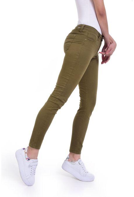 Pantalon-QUEST-Skinny-Fit-QUE209190010-38-Verde-Militar-2