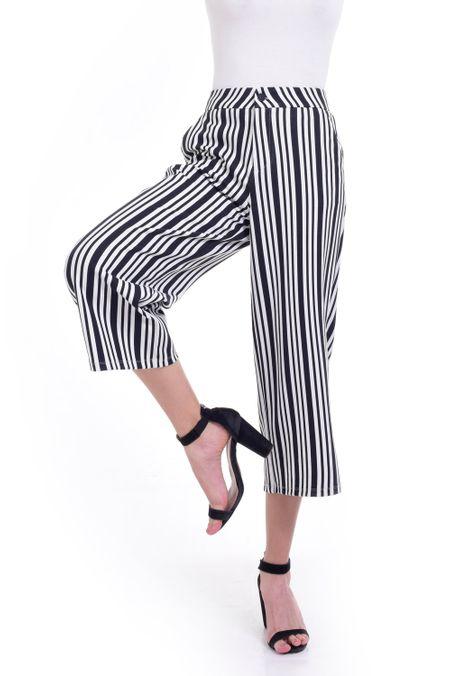 Pantalon-QUEST-Culotte-Fit-QUE209190007-66-Negro-Blanco-1