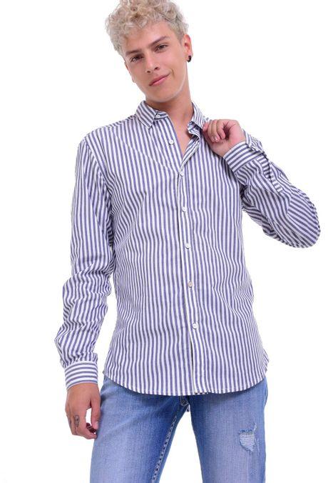 Camisa-QUEST-Slim-Fit-QUE111LW0004-48-Azul-Oscuro-Indigo-1