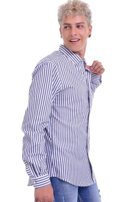 Camisa-QUEST-Slim-Fit-QUE111LW0004-48-Azul-Oscuro-Indigo-2