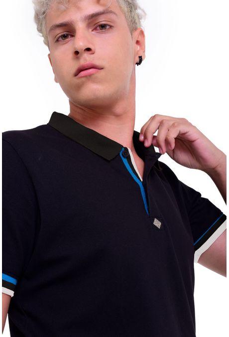 Polo-QUEST-Slim-Fit-QUE162190074-19-Negro-2