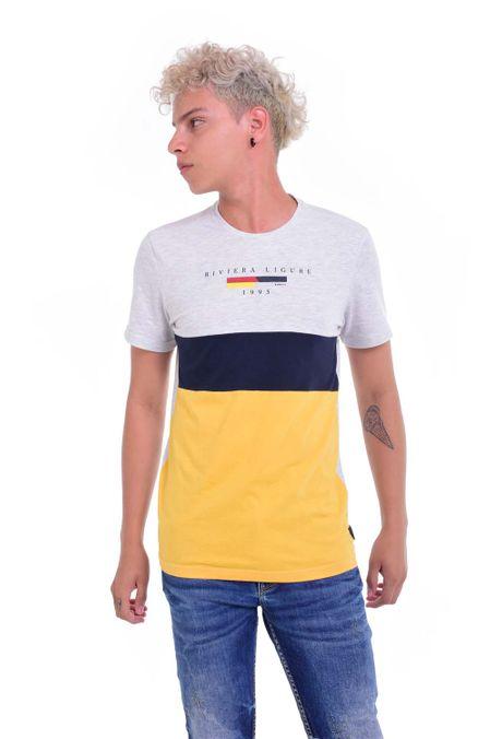 Camiseta-QUEST-Original-Fit-QUE112190049-86-Gris-Jaspe-Medio-1