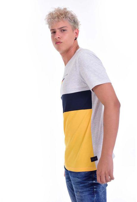 Camiseta-QUEST-Original-Fit-QUE112190049-86-Gris-Jaspe-Medio-2
