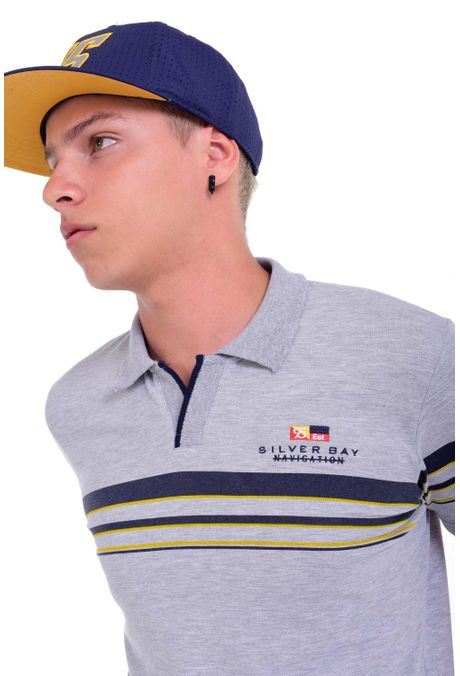 Polo-QUEST-Slim-Fit-QUE162190012-86-Gris-Jaspe-Medio-2