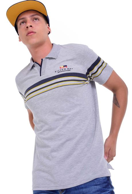 Polo-QUEST-Slim-Fit-QUE162190012-86-Gris-Jaspe-Medio-1