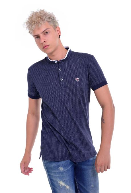 Polo-QUEST-Slim-Fit-QUE162190016-16-Azul-Oscuro-1