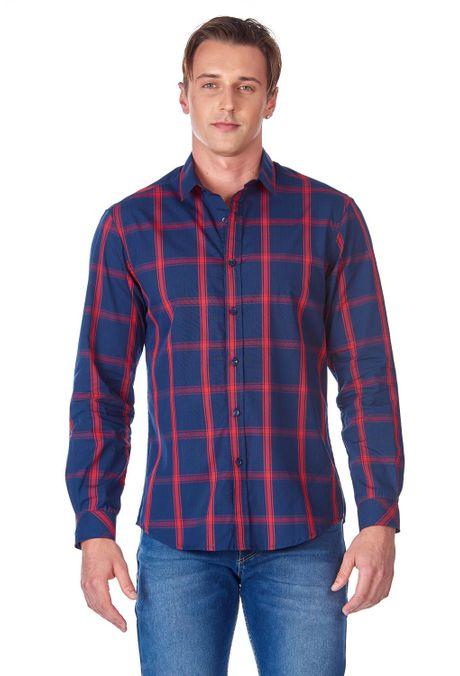 Camisa-QUEST-Original-Fit-QUE111190097-16-Azul-Oscuro-1